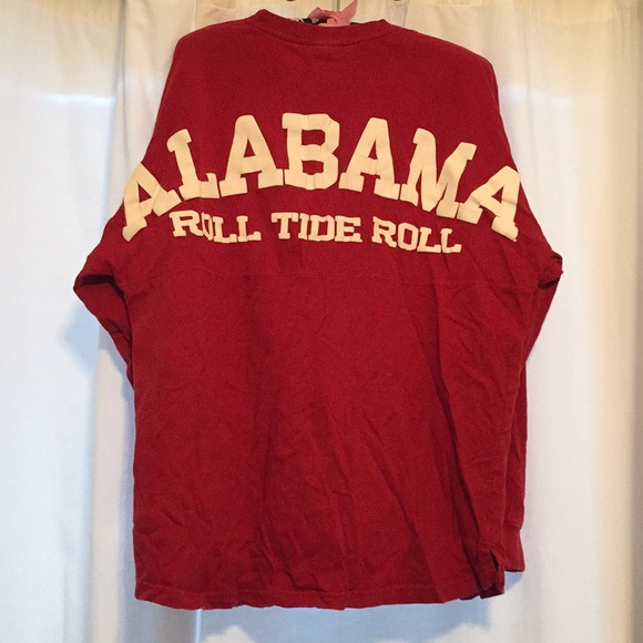 Crimson Alabama Spirit Jersey - long sleeve. M 5b089591a825a66c02fa19ad c30193cf6